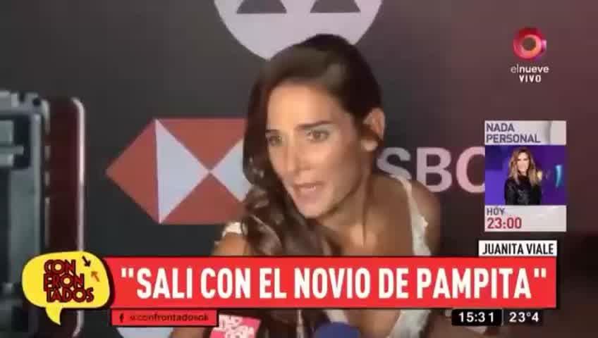 Juana Viale habló de Roberto Garcìa Moritan, su ex