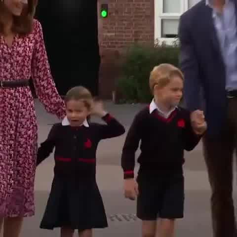 Primer día de Clases de los Príncipes