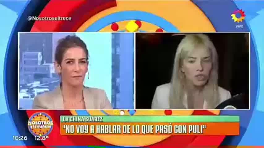 China Suárez, enojada con Puli Demaría