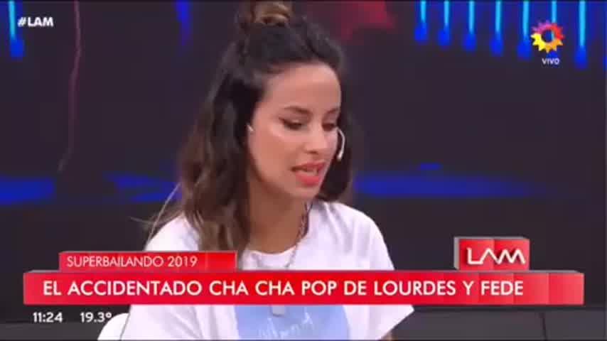 Lourdes Sánchez lloró en LAM II