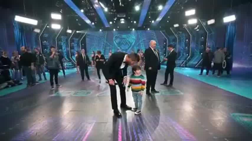 Lolo Tinelli, invitado de lujo en el super bailando