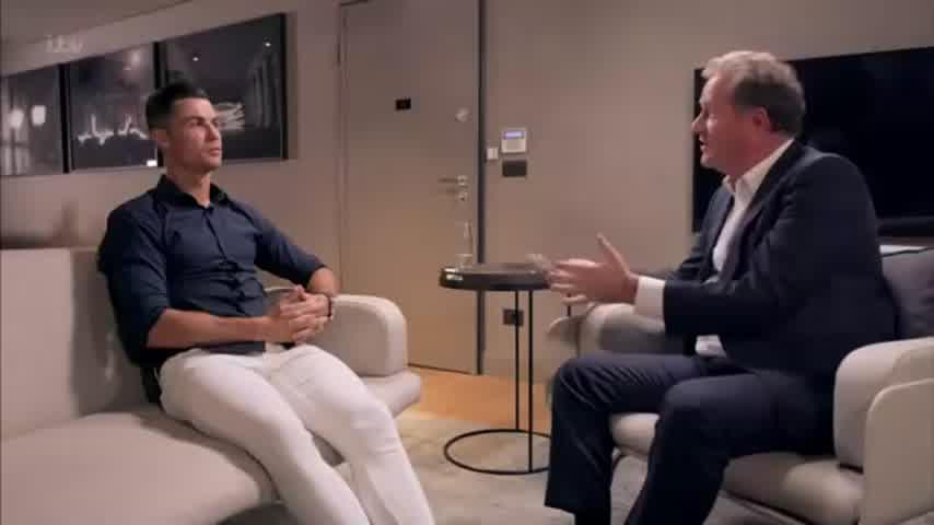 Cristiano Ronaldo Discusses His Rape Allegation Ordeal | Cristiano Ronaldo Meets Piers Morgan