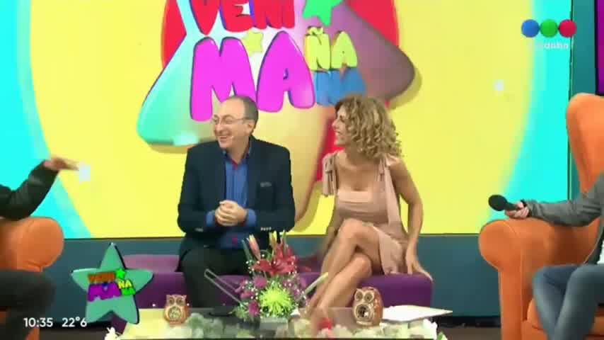 Guido Suller y Tomasito en una entrevista exclusiva de Vení Mañana