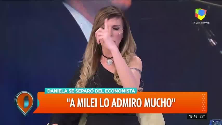 Daniela desmayo en Intrusos