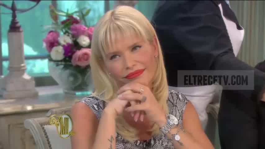 Almorzando con Mirtha Legrand 2014 - Nazarena Vélez rompió el silencio con Mirtha Legrand