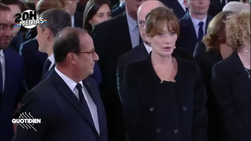 Carla Bruni Sarkozy choquée par François Hollande  !!!