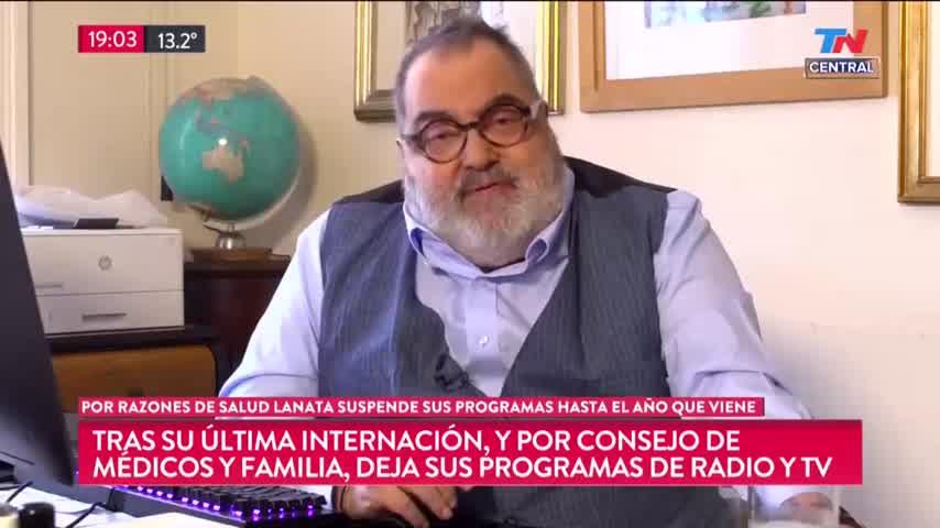 Jorge Lanata suspendió Periodismo para todos año que viene