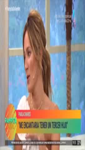 Paula Chaves reveló que quiere volver a ser madre: ¿se viene el tercero?
