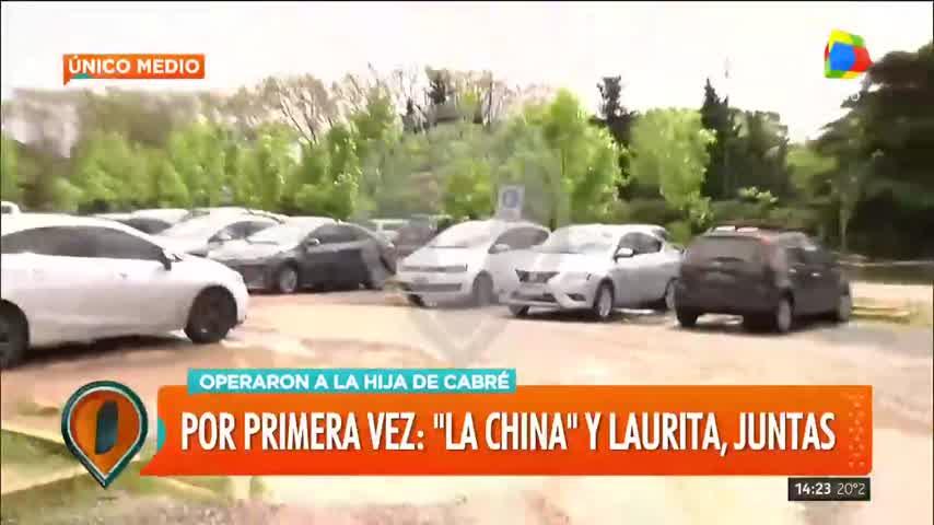 La china y Laurita a los Abrazos
