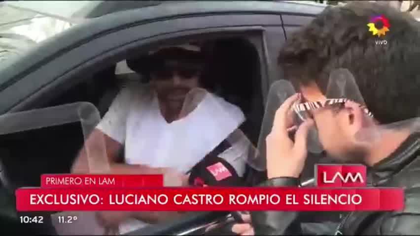 Luciano Castro rompió el silencio