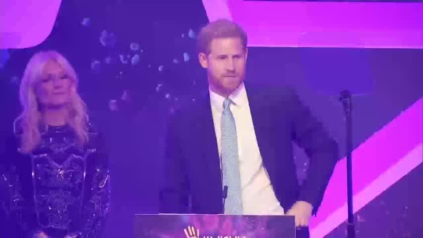 Principe Harry  en WellChild Awards