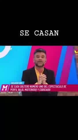 En el Diario de Mariana confirmaron el casamiento de Abel Pintos