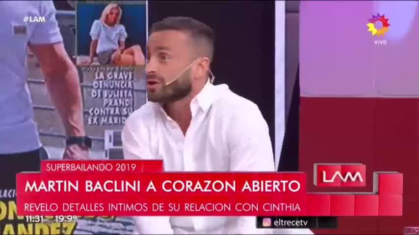 Baclini acusado de ser Gay