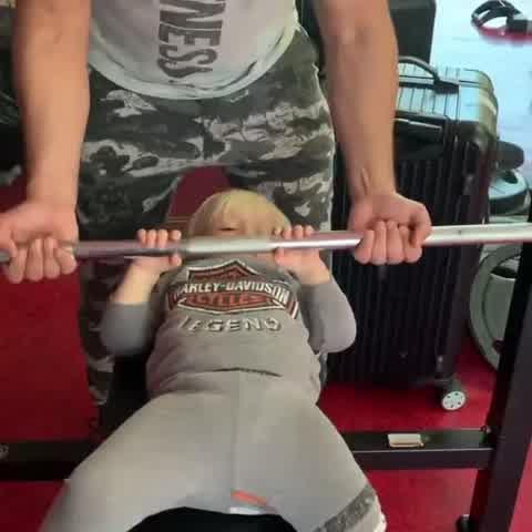Dionisio entrenando