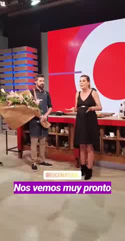 Eugenia Tobal se despide de su programa