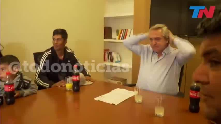 Alberto Fernández y el Chico Discriminado, Braian Gallo