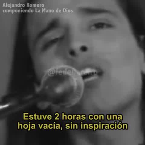 """La historia detrás de \""""La Mano de Dios\"""" la canción de Rodrigo"""