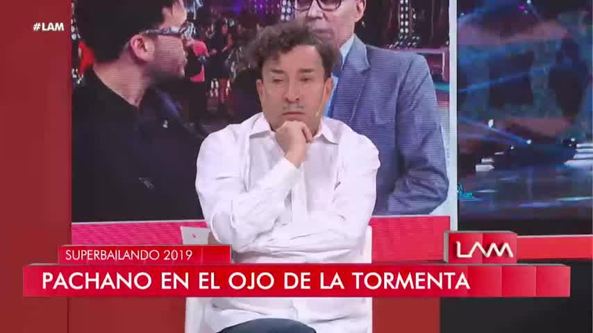 Aníbal Pachano imitó la actitud de Luli Salazar