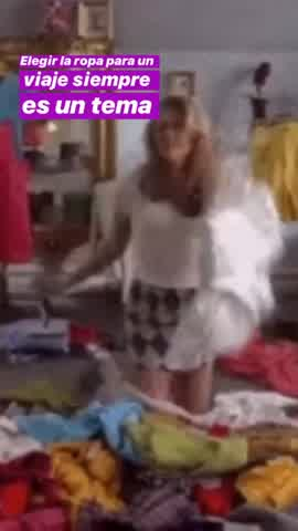 Luisana Lopilato sobre la ropa