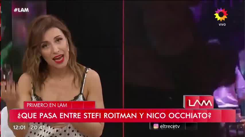 Stefania Roitman y Nico Occhiato