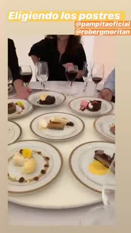 Pampita y su novio eligen menú para la boda