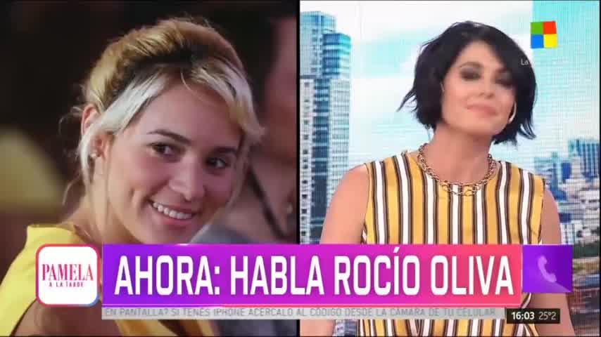 La palabra de Rocío Oliva - Pamela a la Tarde (05/11/2019)