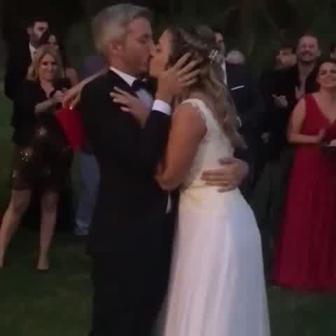 Maite Peñoñori en su boda