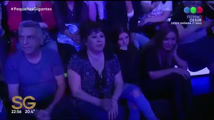Sol Cwirkaluk, la hija de El Polaco y Karina La Princesita, cantó en el programa de Susana Giménez.