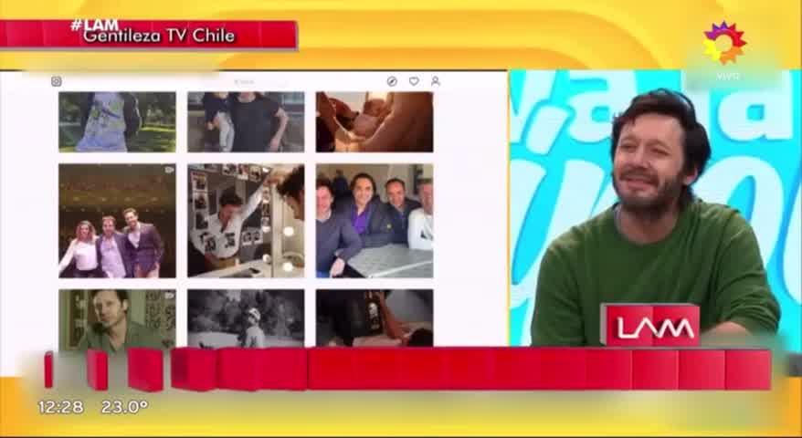 Vicuña habló de Blaquita en Chile