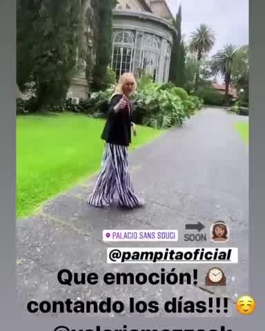 La emoción de Pampita a días de su boda