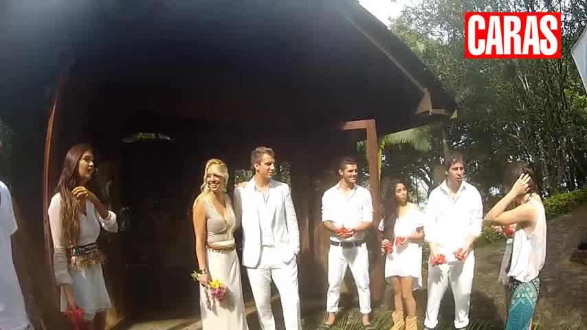Wanda Nara, Maxi López y Mauro Icardi en la Isla de CARAS