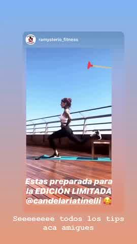 Cande Tinelli nuevo proyecto