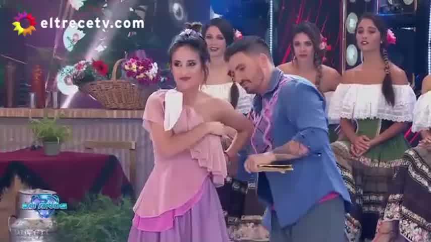 Lourdes Sánchez volvió a sufrir un nuevo accidente en el Bailando