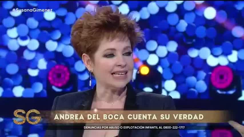 Andrea del Boca en Susana