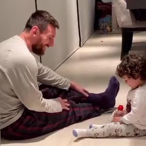 El video de Leo Messi jugando con Ciro