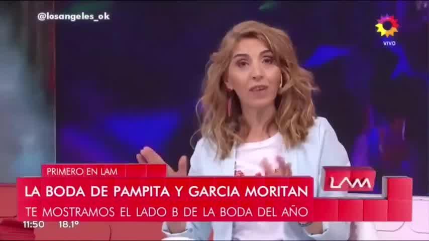 Pampita y García Moritán adelantaron la noche de bodas