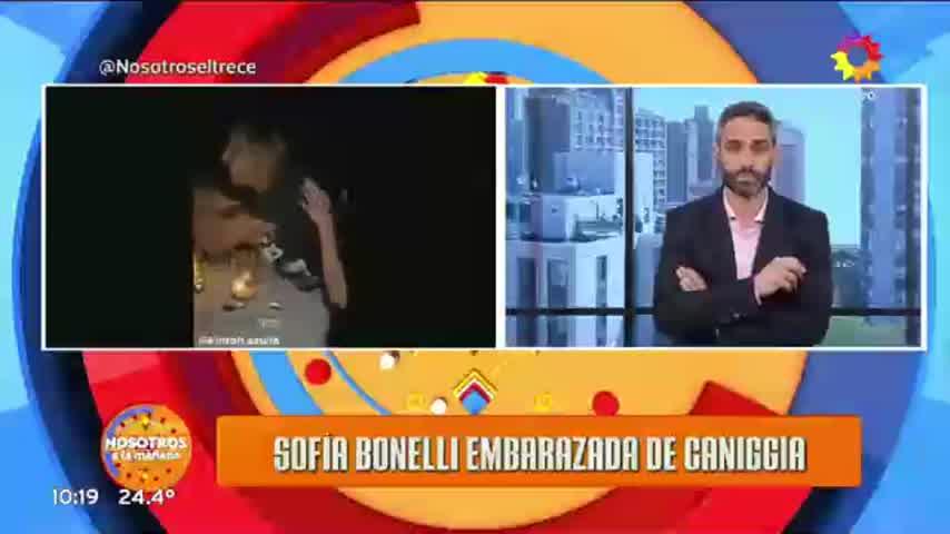 Mariana Nannis ante el embarazo de Claudio Paul
