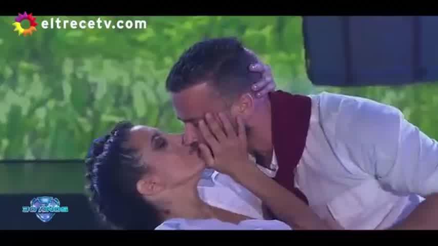 """Cinthia Fernández y Martín Baclini terminaron su coreo y ella le dijo """"te amo"""""""