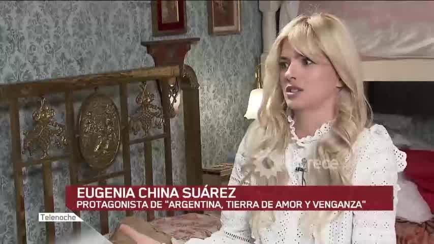 "La historia detrás del personaje de la \""China\"" Suárez"