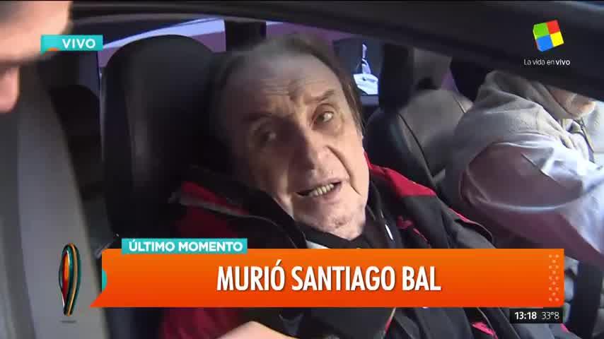 Murió Santiago Bal