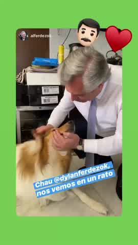 El video viral de Alberto Fernández y Dylan