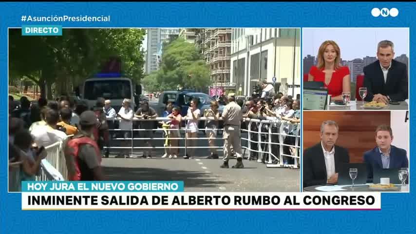 Así llegó Alberto Fernández a su asunción como Presidente