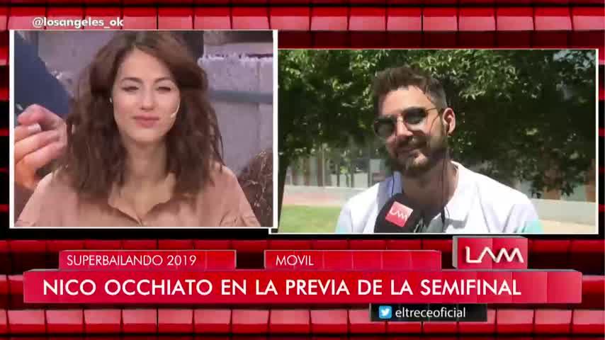 Flor Vigna y Nico Occhiato se cruzaron en LAM
