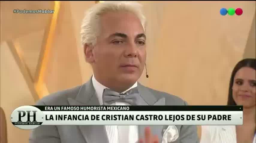 Cristian Castro reveló por qué su padre no lo quiso conocer hasta los 30 años