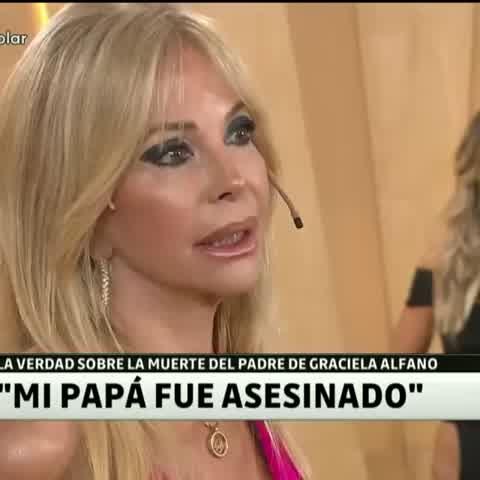 El triste final del padre de Graciela Alfano y la culpa que sintió ella