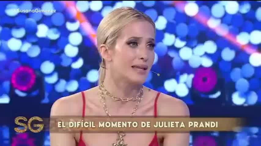 El descargo de Prandi en el living de Susana