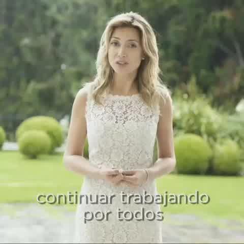 Fabiola Yáñez envió un mensaje alentador para recibir el 2020