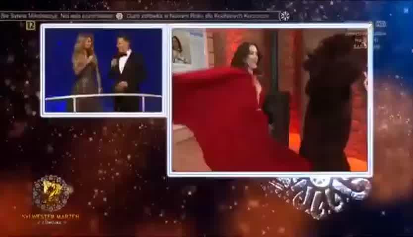 El increíble homenaje que le hicieron a Natalia Oreiro en la TV polaca