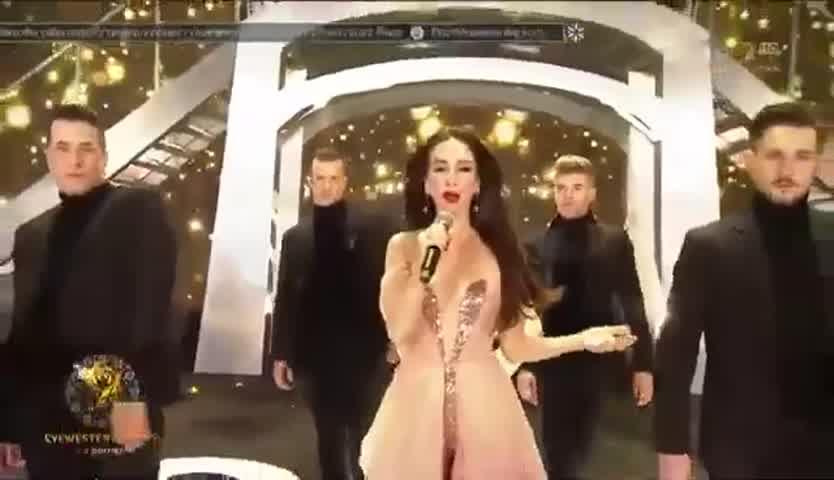 El increíble homenaje que le hicieron a Natalia Oreiro en la TV polaca 2
