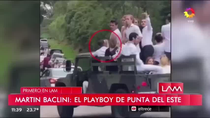 El llanto de Cinthia Fernández al enterarse que Baclini tiene novia nueva